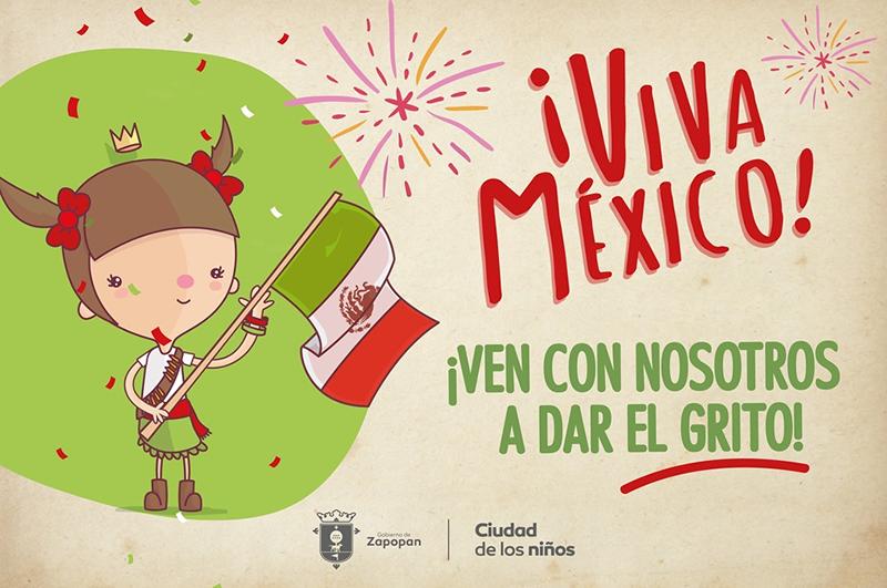 Viva México ven a dar el grito con nosotros