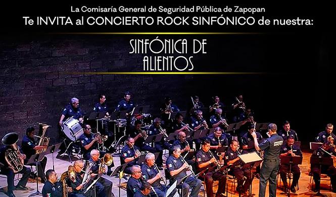 Invitación al Concierto de rock sinfónico