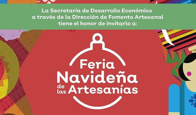 Invitación a la Feria Navideña de las Artesanías