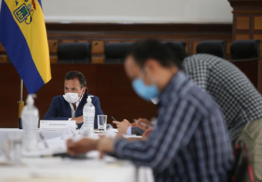 Presenta Pablo Lemus estrategia de ciclovías emergentes en sesión de Junta de Coordinación Metropolitana