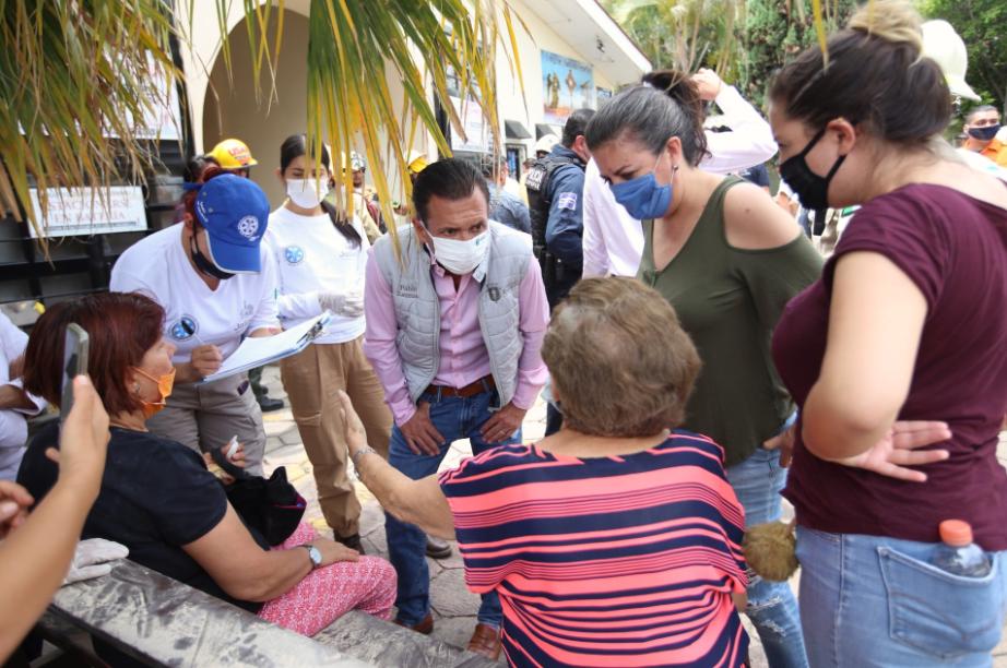 Zapopan atendió derrumbe en parroquia Corpus Christi en Prados Vallarta