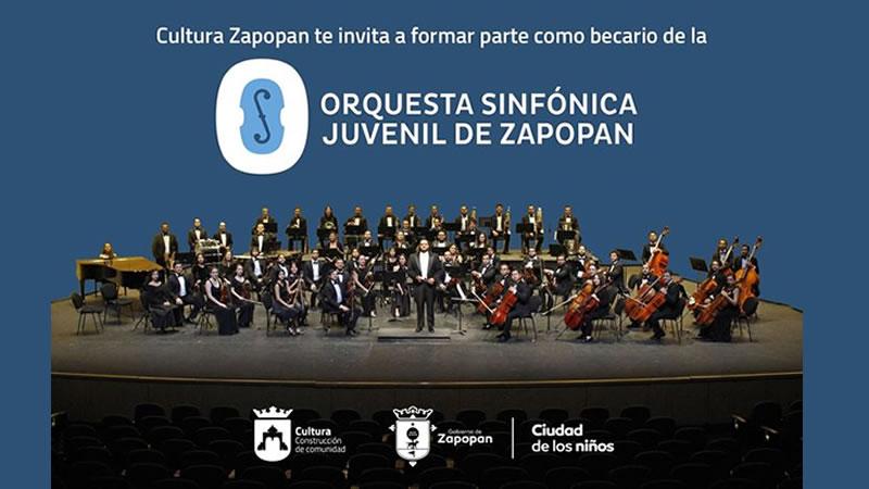 Convocatoria para becario de la Orquesta Sinfónica Juvenil de Zapopan