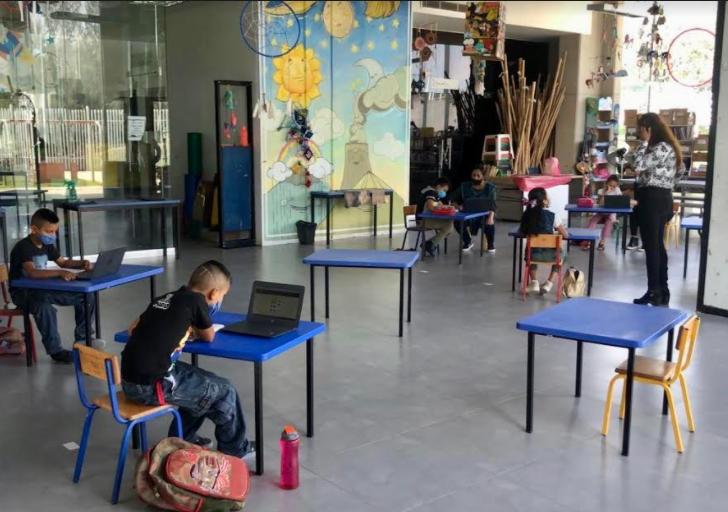 Realiza DIFZapopanacompañamiento escolar a usuarios de ludotecasy del Centro Kokone