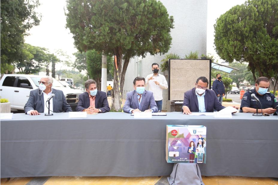 PresentaZapopanConvenio de Seguridad Colaborativa en Ciudad del Sol