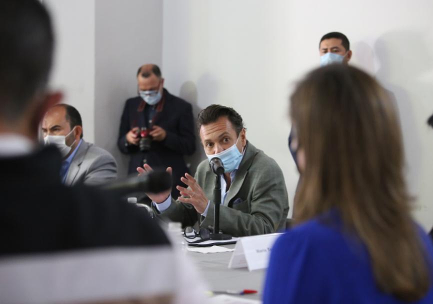 Participa Pablo Lemus en sesión ordinaria de la Iniciativa de Transparencia en Infraestructura (CoST)