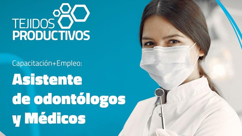 Asistente de odontólogos y médicos