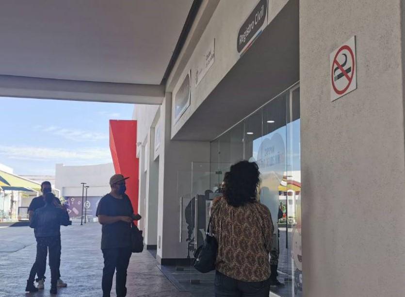 Oficialía de Registro Civil brinda servicio en Plaza Ciudadela