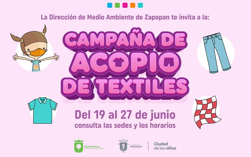 Campaña de acopio de textiles