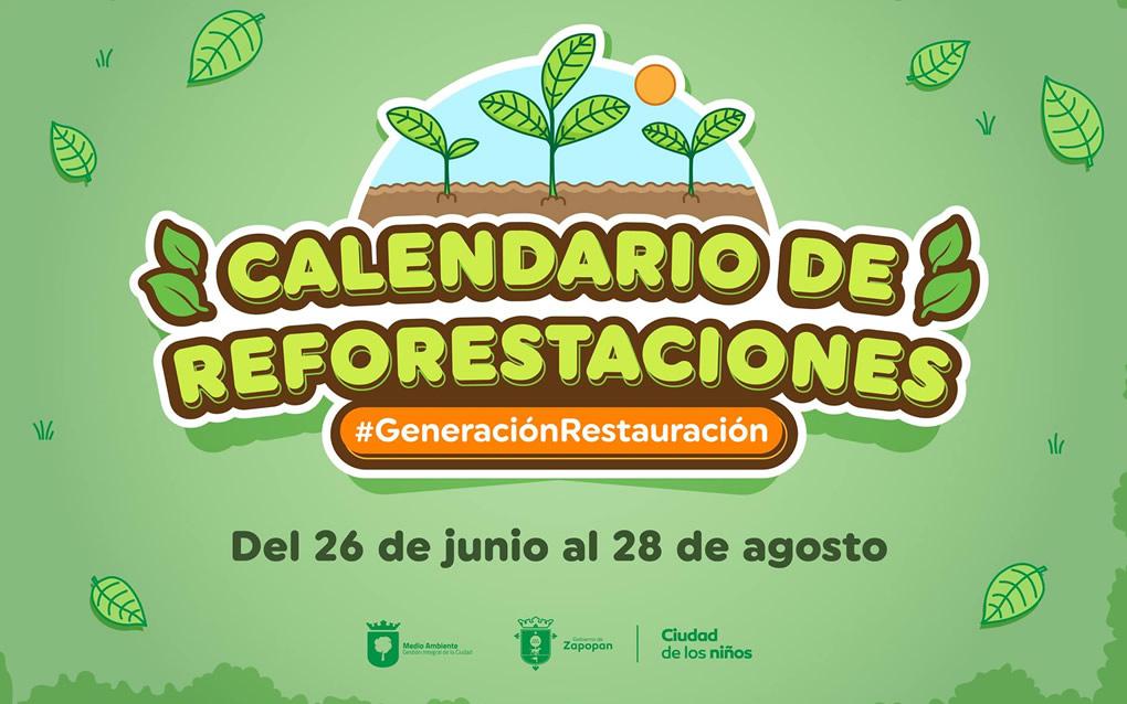 Calendario de reforestaciones