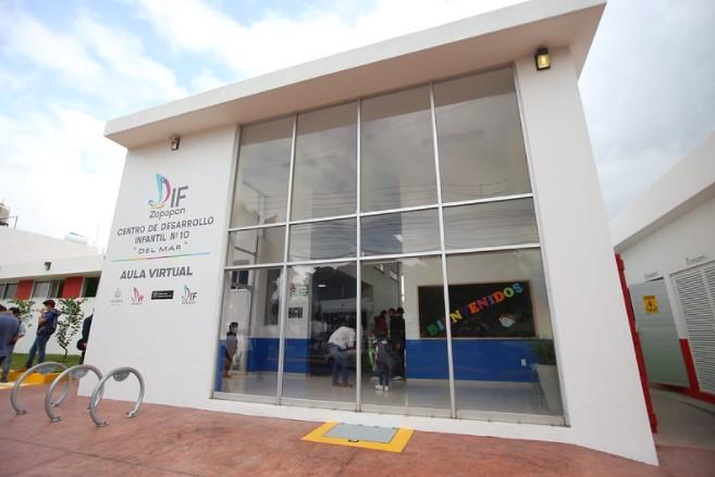 Entrega Zapopan rehabilitación integral de Centro de Desarrollo Infantil número 10