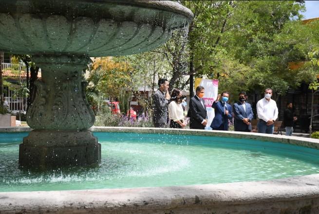 Rehabilita Zapopan espacio público al costado de Palacio Municipal