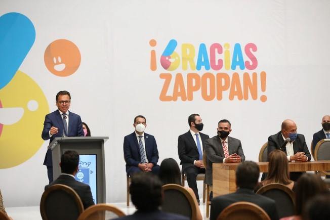 'Gracias Zapopan': rinde Pablo Lemus Sexto Informe de Gobierno