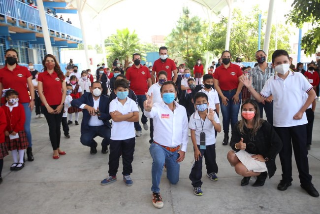 Interviene Zapopan planteles educativos con programa Escuelas con Estrella
