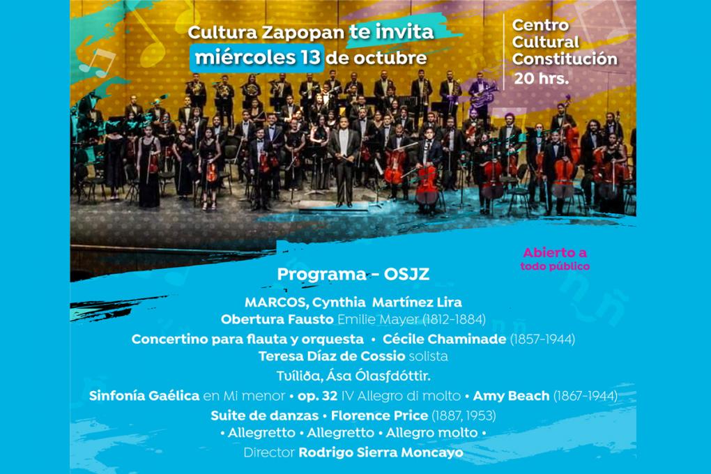 Concierto de la Orquesta Sinfónica Juvenil de Zapopan