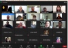 Participantes del curso virtual en sesión de Zoom